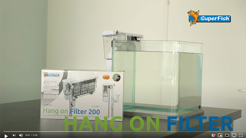 Video Thumbnail of the SuperFish Hang On Filter
