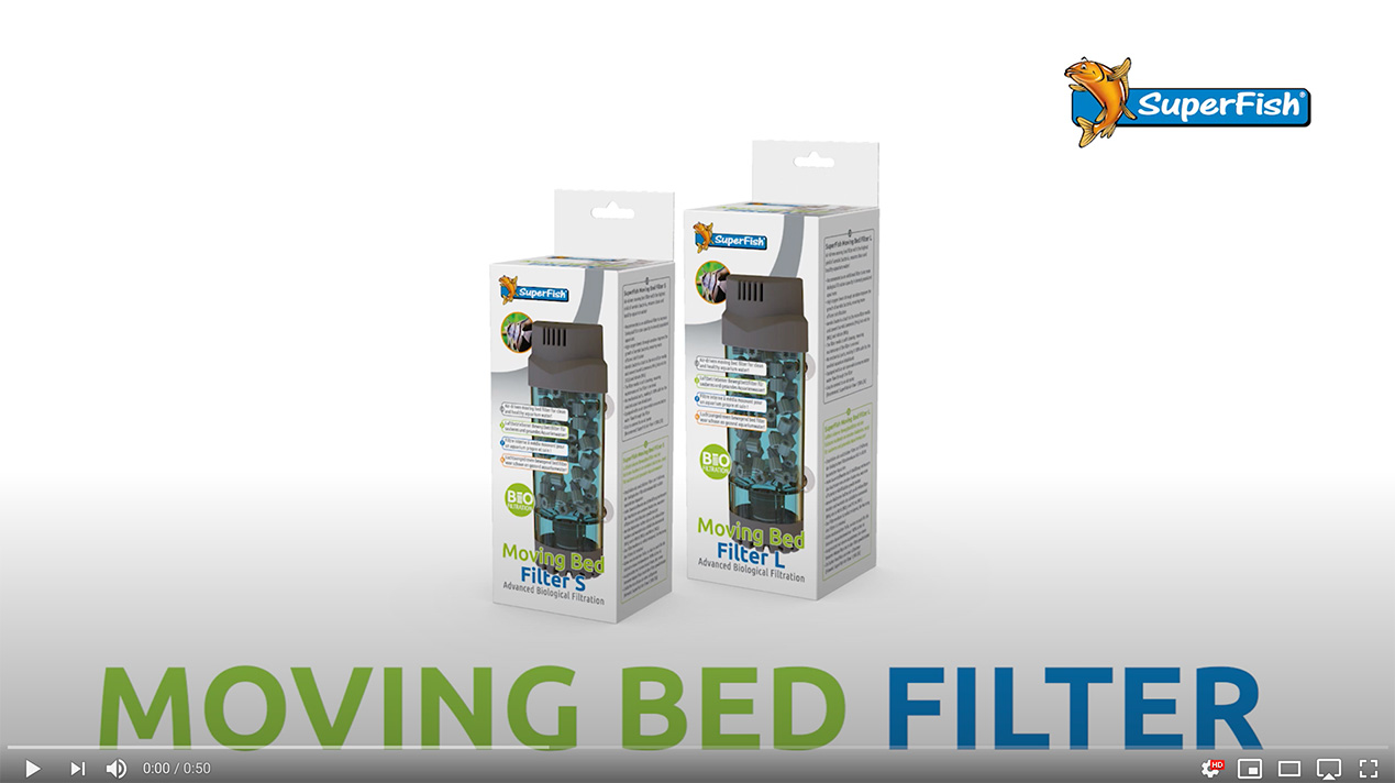 Video Thumbnail of the SuperFish Moving Bed Filter