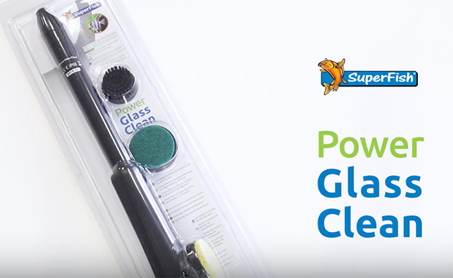 Video Thumbnail of the SuperFish Power Glass Cleaner